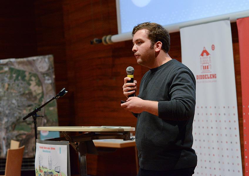 Foire aux idées : Pour l'avenir de Dudelange / Markt der Ideen : Viele Fragen , Ideen und Visionen