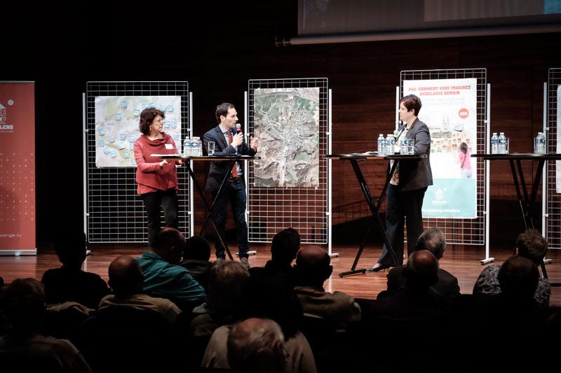 Conférence de clôture du PAG / Abschlusskonferenz zur Bürgerbeteiligung im Rahmen der Neuaufstellung des PAG