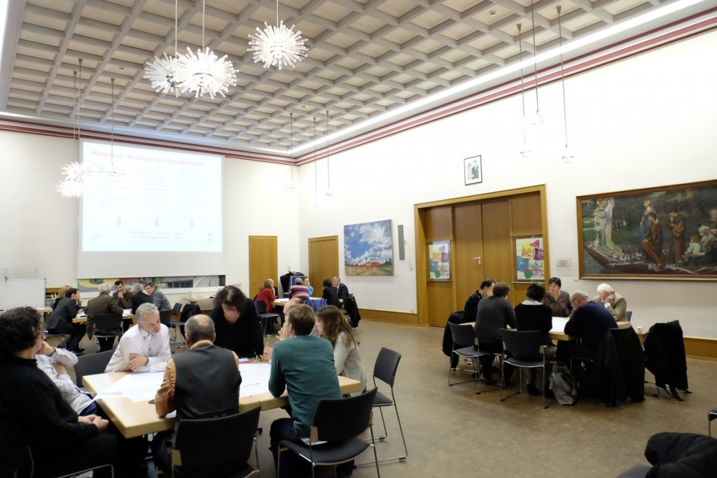 Stratégie de développement urbain – Deuxième atelier / Stadtentwicklungsstrategie – Zweiter Workshop