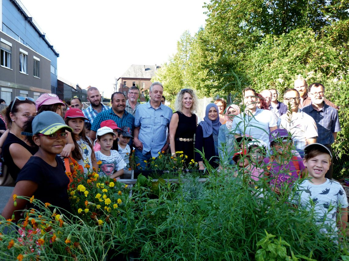 Inauguration officielle du jardin interculturel for Centre de jardin