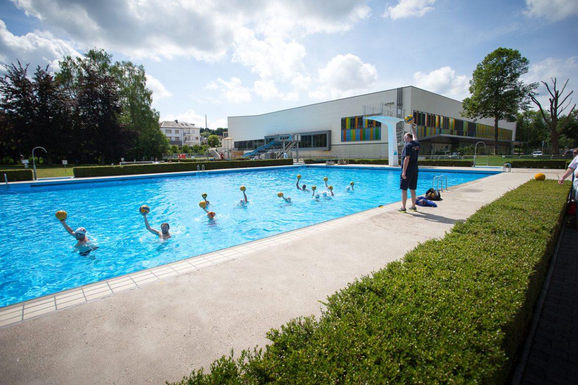Ouverture officielle de la piscine en plein air saison for Ouverture piscine